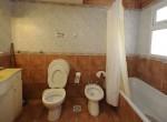 Cabaña 7 – Baño habitación matrimonial